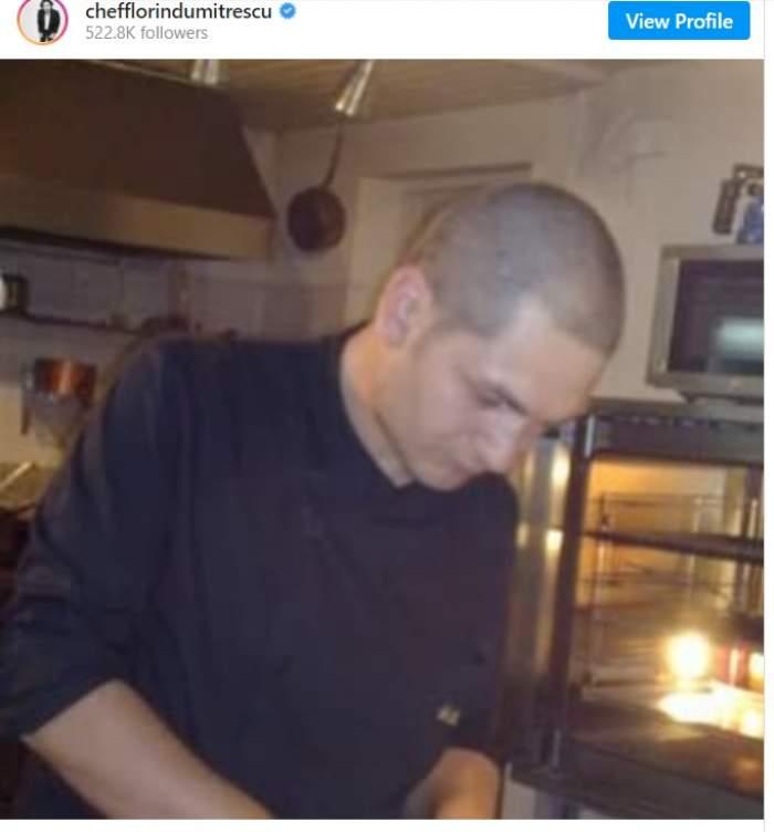 Florin Dumitrescu, de nerecunoscut fără păr. Imaginea nemaivăzută cu juratul de la Chefi la cuțite / FOTO