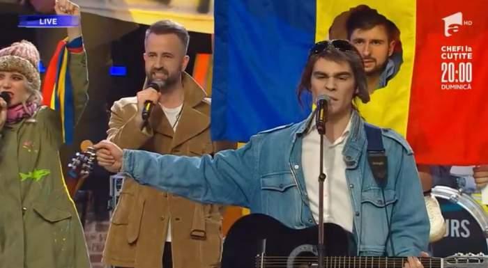 Radu Stefan Banica s-a transformat in Cristian Paturca la Te cunosc de undeva