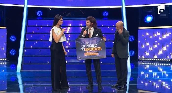 Pepe, cu premiul din semifinala Te cunosc de undeva