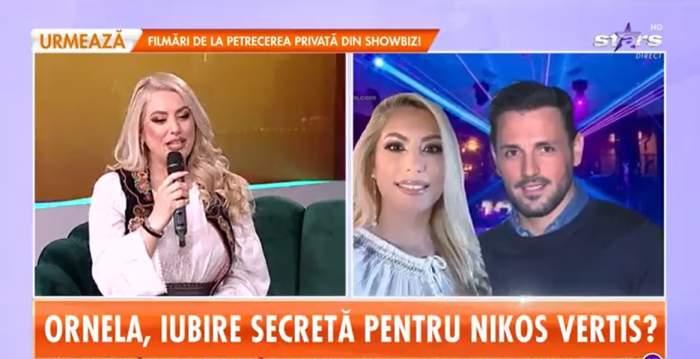 """Ornela Pasăre și Nikos Vertis au o relație? Artista a dezvăluit ce este, de fapt, între ei: """"Poveștile de iubire la distanță"""" / VIDEO"""