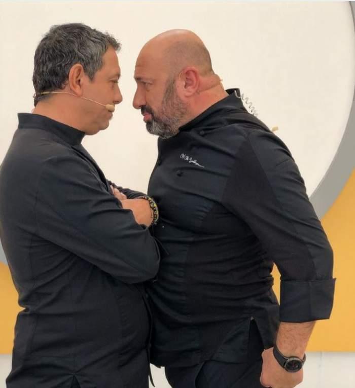 Sorin Bontea și Cătălin Scărlătescu împart aceeași pasiune ascunsă! Cum a fost surprins juratul de la Chefi la cuțite / FOTO