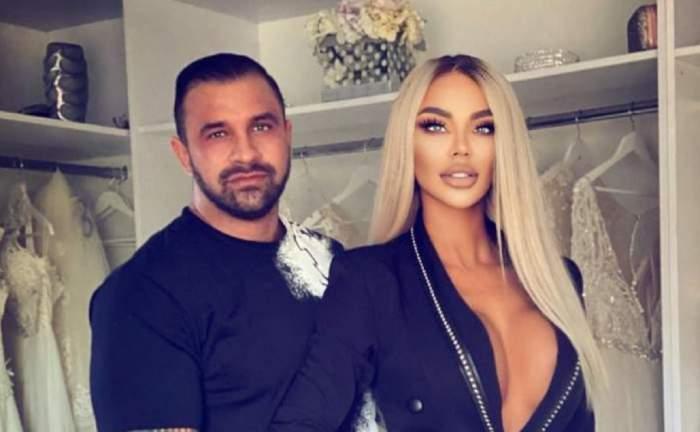 Bianca Drăgușanu și Alex Bodi în perioada în care erau împreună.