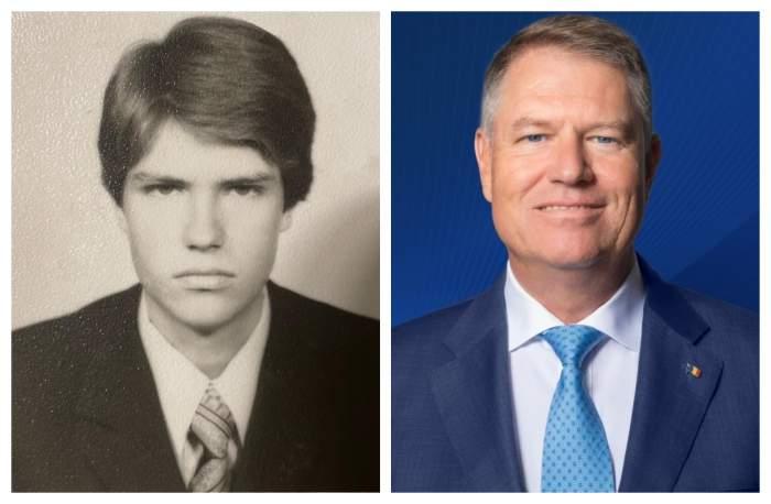 Cum arăta Klaus Iohannis la 17 ani. Președintele României a postat o fotografie din copilăria sa