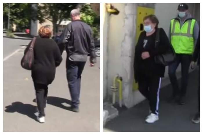 Imaginile durerii! Soția lui Ioan Crișan, afaceristul asasinat la Arad, a venit la INML pentru a-i prelua rămășițele milionarului / FOTO