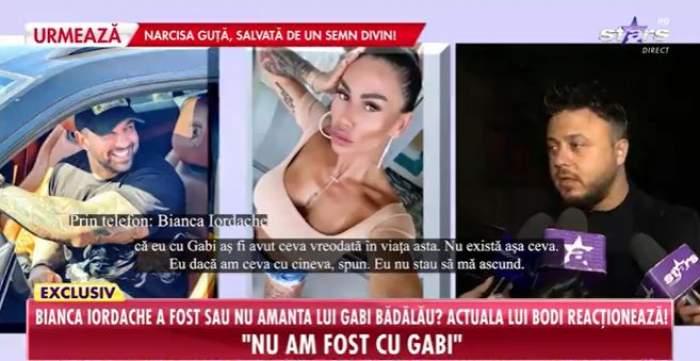 """A fost sau nu Bianca Iordache amanta lui Gabi Bădălău? Noua cucerire a lui Alex Bodi, declarații la Antena Stars: """"Nu stau să mă ascund"""""""