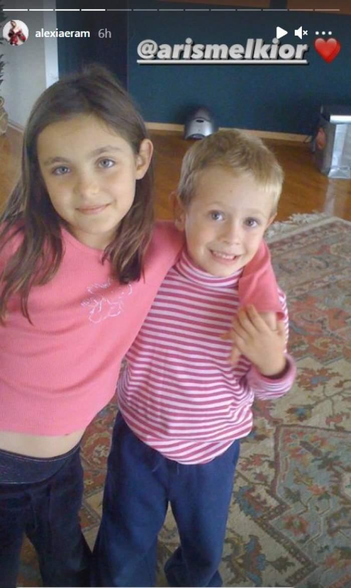Alexia Eram, imagini de pe vremea când era bebeluș. Cum arăta fiica Andreei Esca în brațele mamei ei / GALERIE FOTO