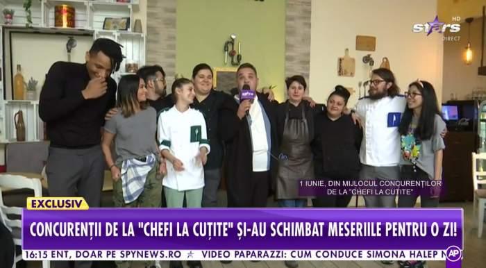 Concurenții de la Chefi la cuțite la Antena Stars