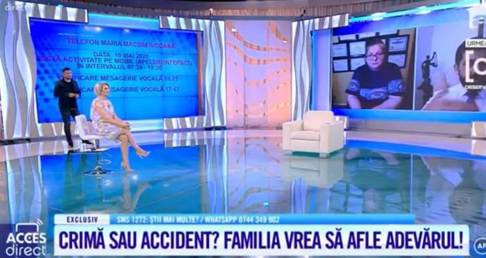 Acces Direct. Ce s-a întâmplat cu telefonul Mariei Macsim Nicoară, după ce artista a intrat în comă. Informații incredibile la un an de la tragedie