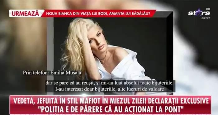 Emilia Mușală la Antena Stars