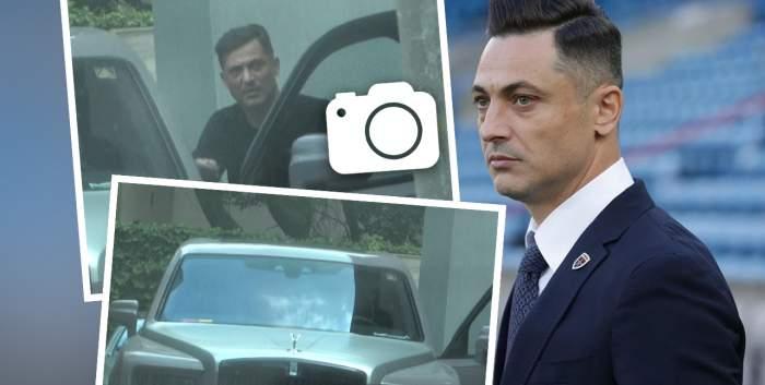 Imagini cu Mirel Rădoi la volanul bolidului de peste 300.000 de euro. Provocarea la care a fost supus în trafic / PAPARAZZI
