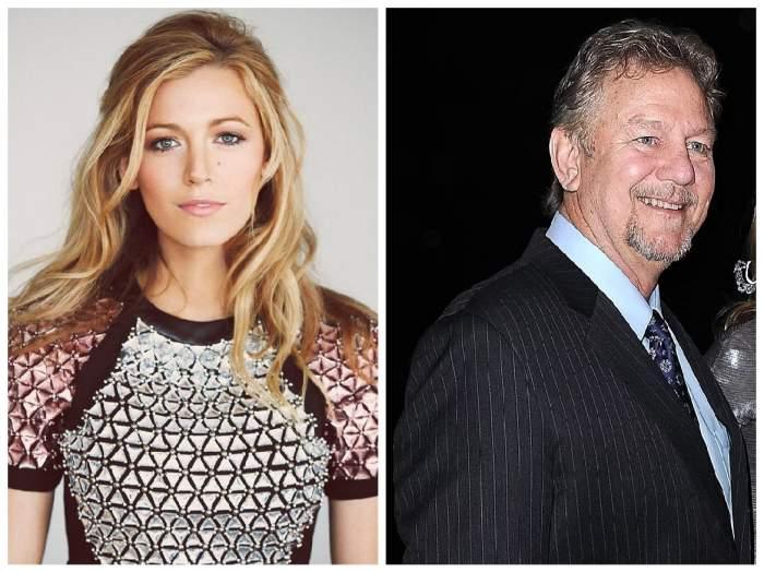 Colaj cu Blake Lively și tatăl ei, Ernie Lively