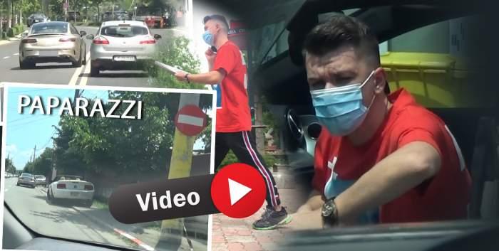 Daniel Niculescu, soțul Andreei Tonciu, un bărbat responsabil, însă până la regulile de circulație. A încălcat două dintr-o lovitură! / PAPARAZZI
