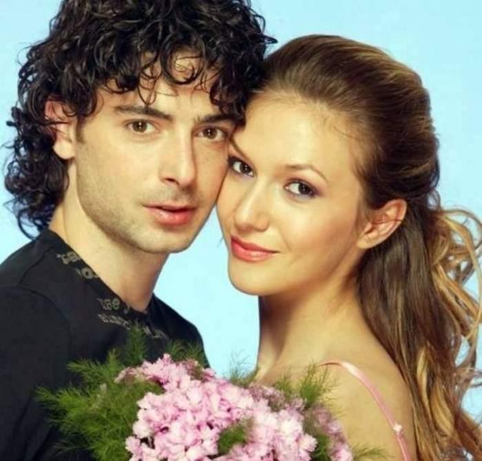Dan Bordeianu și Adela Popescu când erau împreună.