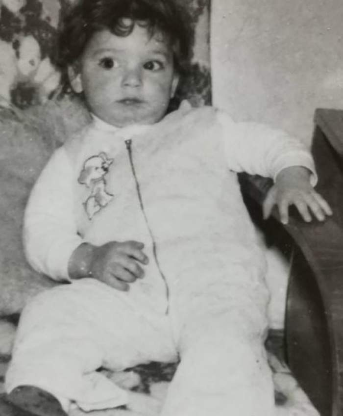 Dan Bordeianu când era mic.