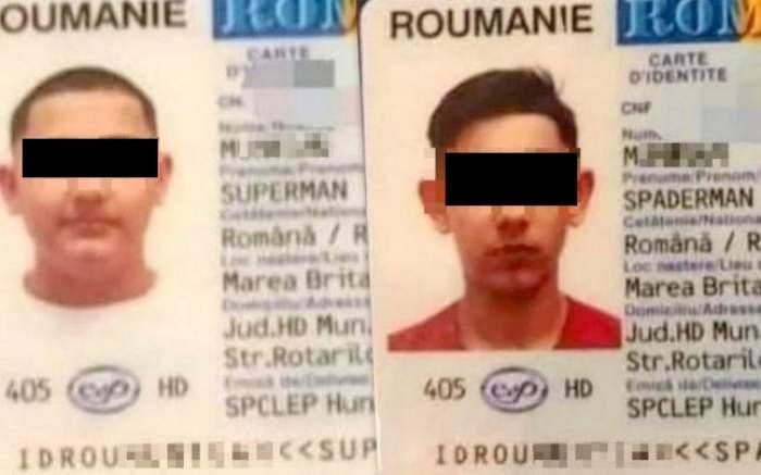 Superman şi Omul Paianjen, doi tineri din Hunedoara care au devenit virali pe Internet. Cei doi bărbați sunt, de fapt, frați / FOTO