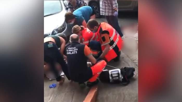 """Cine era Gabi """"Șef"""", interlopul înjunghiat mortal, în plină stradă, la Galați. Criminalul a fost reținut de polițiști / VIDEO"""