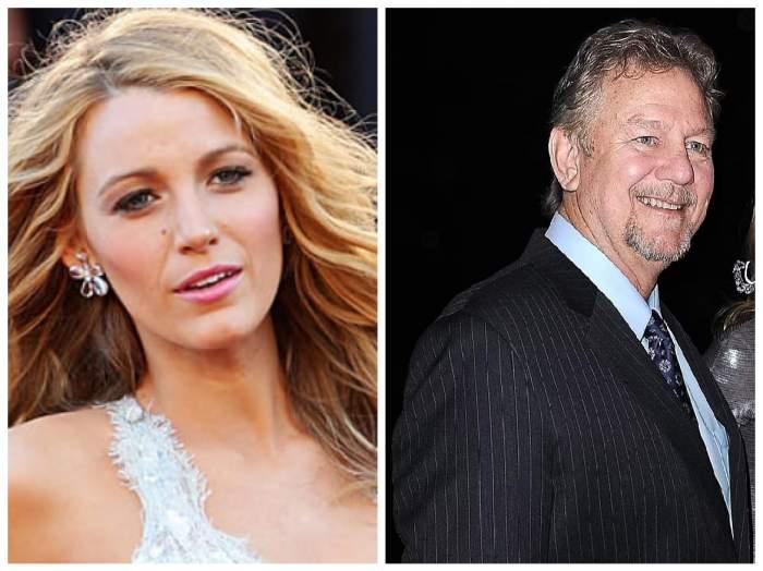 Blake Lively și tatăl ei, Ernie Lively