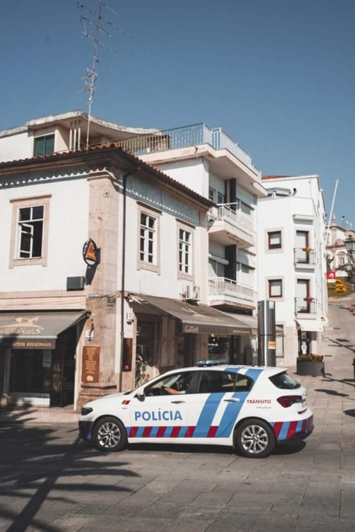 masina de poliție în Spania