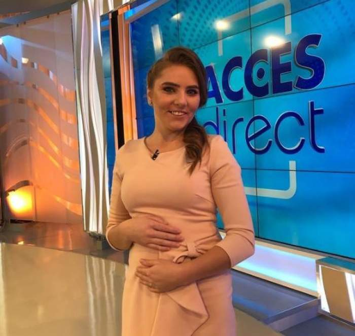 Vulpița când era gravidă, la Acces Direct!