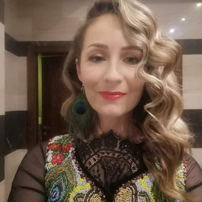 Mihaela Schreiner când trăia, selfie.