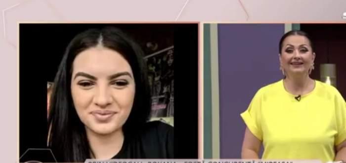 """Roxana, fosta concurentă din casa Mireasa, surprinsă de noul cuplu dintre Ionuț și Romina. Ce părere are despre posibila relație: """"A fost urât față de Costinela"""""""