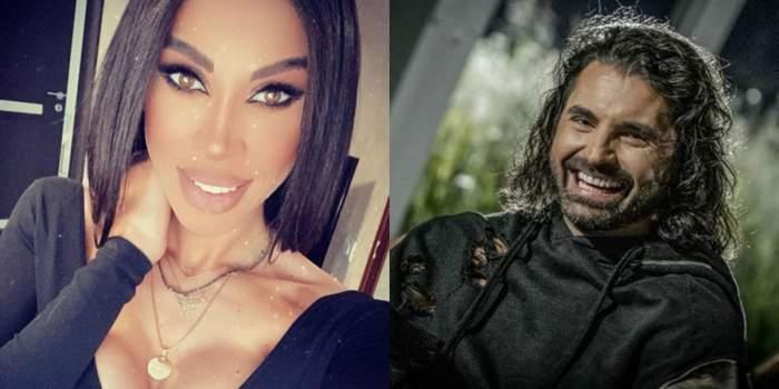 În stânga e Raluca Pascu îmbrăcată în bluză neagră, decoltată. În dreapta e Pepe îmbrăcat în hanorac negru. Amândoi zâmbesc.