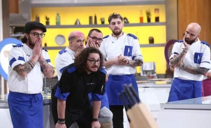 Echipa lui Florin Dumitrescu la Chefi la cuțite.