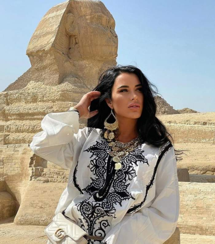daniela crudu in egipt
