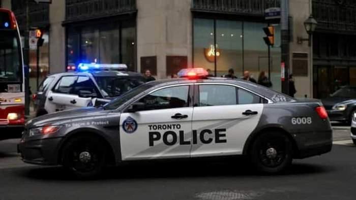 o masina de politie