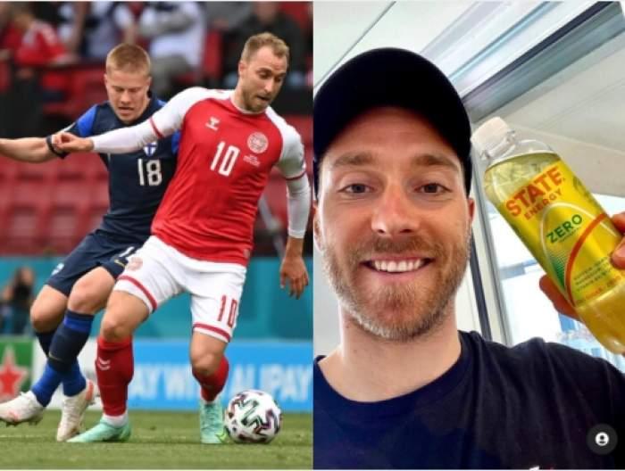 Cine este Christian Eriksen. Lumea fotbalului este în stare de șoc după accidentarea sa