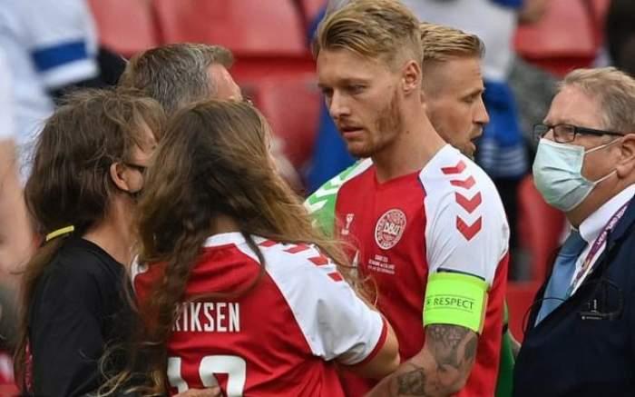 Cine este fotbalistul care i-a salvat viața lui Christian Eriksen. Sportivul i-a acordat primul ajutor la timp