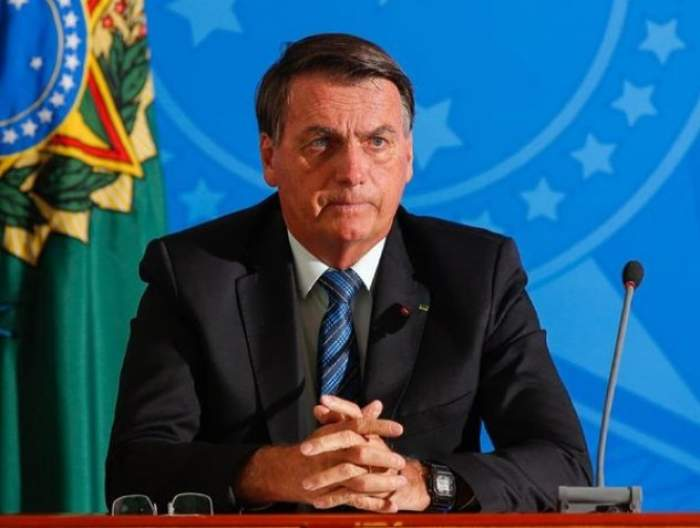 Jair Balsonaro, președintele Braziliei la conferință de presă