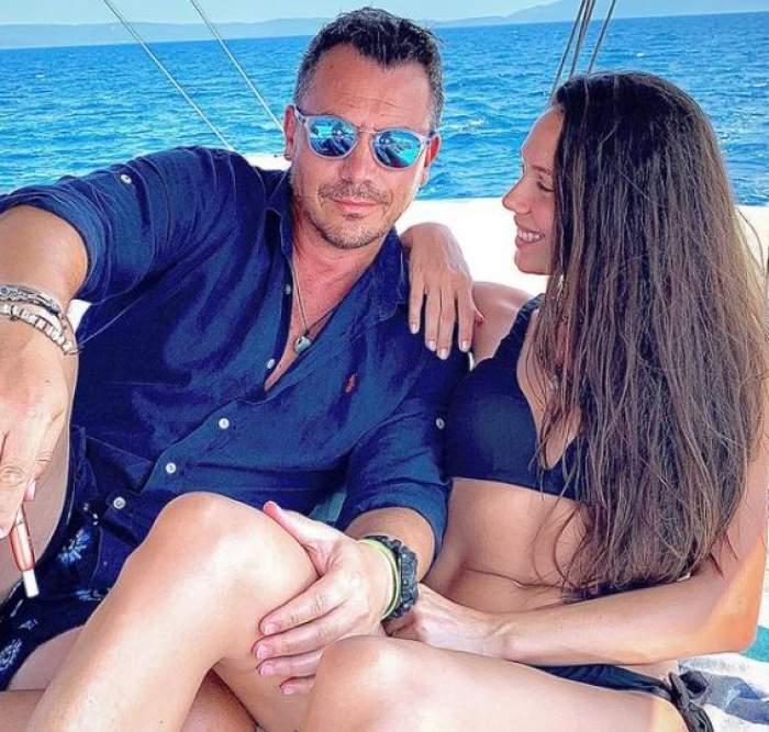 Irina și Răzvan Fodor, la mare.