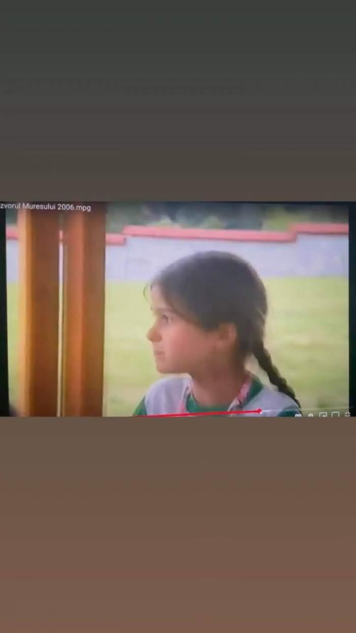 Cum arăta Theo Rose când era mică. Artista a împărtășit imagini unice cu internauții / FOTO