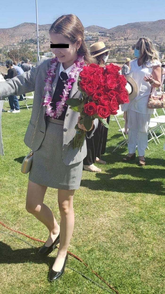 Fiica lui Irinel Columbeanu, mândră absolventă de clasa a VIII-a, în America. Ce gânduri i-a transmis tatăl ei / FOTO