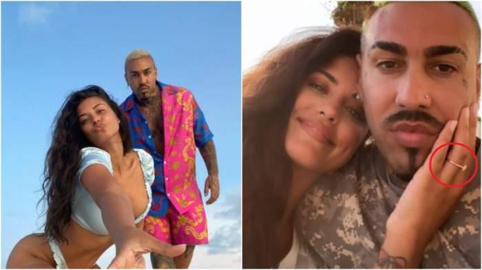 Colaj cu Antonia și Alex Velea, din vacanță/ Antonia și Alex Velea, selfie.