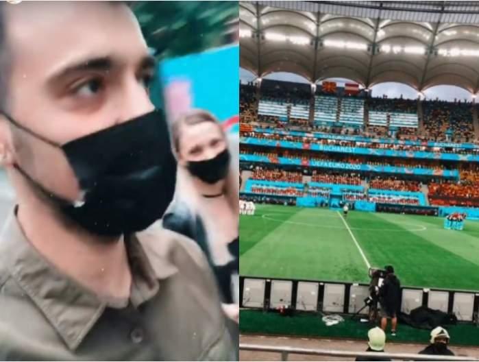 """Liviu Teodorescu, gelos chiar și pe stadion. Ce i-a reproșat iubitei sale, în văzul tuturor: """"Ea nu știu ce caută aici"""""""
