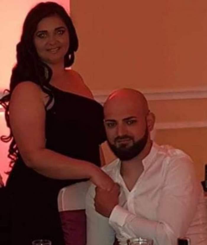 Narcisa Birjaru alături de soțul său, la un eveniment monden.