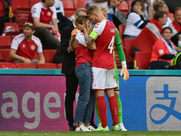 Cine este Sabrina Kvist Jensen, soția fotbalistului Christian Eriksen