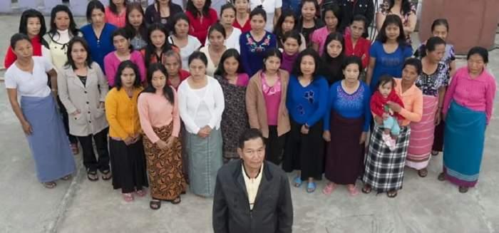 Bărbatul cu cea mai numeroasă familie din lume a murit. 39 de soții, 94 de copii, 33 de nepoți și un strănepot îl plâng acum