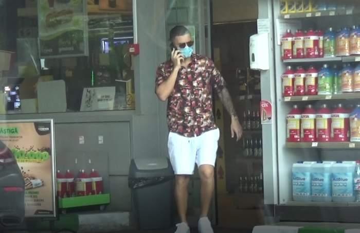 """Ea cu înghețata, el cu munca. În timp ce Alexia Eram îl """"supraveghează"""", Mario Fresh e bărbatul bun la toate! Cum au fost surprinși cei doi îndrăgostiți / PAPARAZZI"""