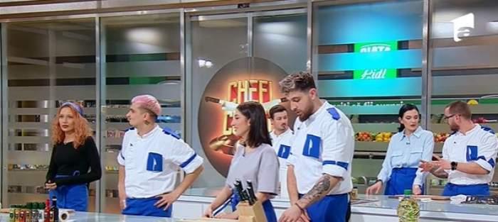 Concurenții Chefi la cuțitealături de cei dragi în semifinală