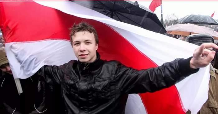 """Roman Protasevici a recunoscut ce i s-a întâmplat, de fapt. A fost sau nu maltrat de autoritățile din Belarus: """"Sunt bine"""""""