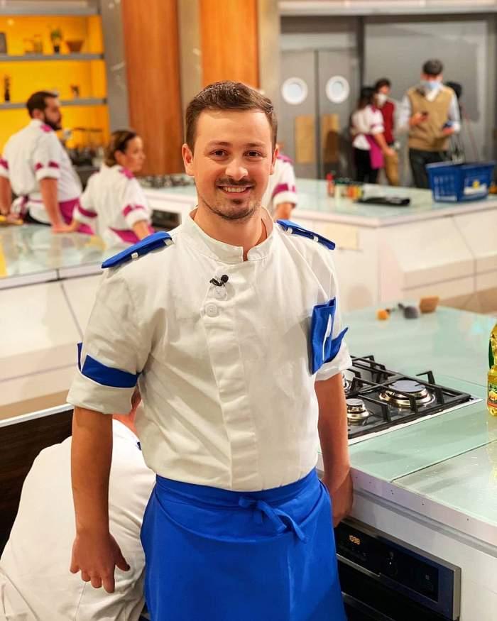 Cu cine se iubește Florin Revesz de la Chefi la cuțite. Concurentul lui Florin Dumitrescu este într-o relație de nouă ani cu iubita sa, Ana