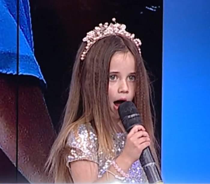 """Sânziana Buruiană își lansează fiica în muzică. Fetița a cântat la Antena Stars: """"Vreau să fie artistă"""" / FOTO"""