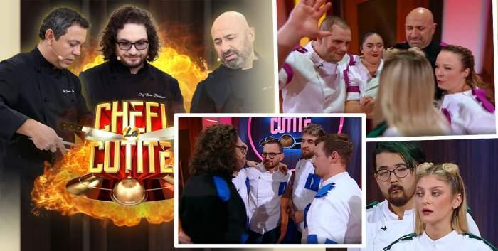 """Ei sunt cei trei finaliști de la Chefi a cuțite, sezonul 9. S-a lăsat cu țipete de bucurie: """"Am explodat!"""" / VIDEO"""