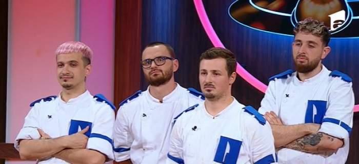 echipa albastră, chefi la cutite