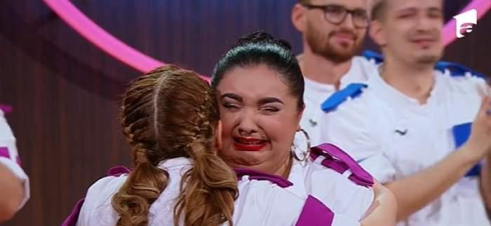 Narcisa Birjaru, în lacrimi la Chefi la cuțite