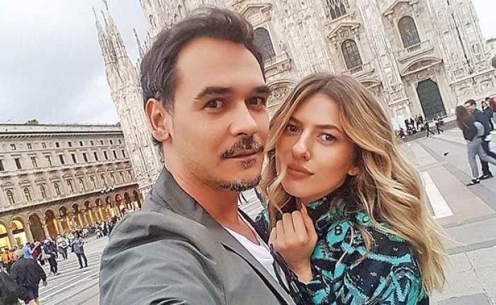 Lidia Buble și Răzvan Simion în perioada în care formau un cuplu, în vacanță.