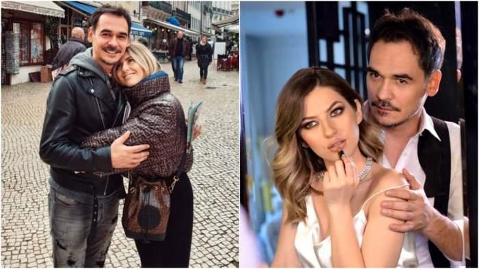 Colaj cu Răzvan Simion și Lidia Buble când formau un cuplu.